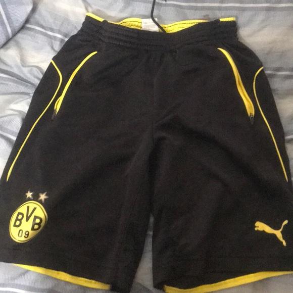 02aa257bd0 Puma Shorts | Borussia Dortmund Training | Poshmark